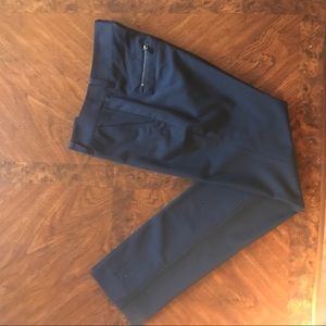 Tory Burch Navy Trousers